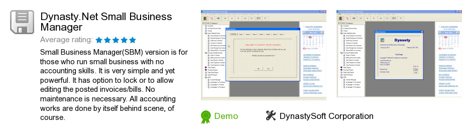 Dynasty.Net Small Business Manager