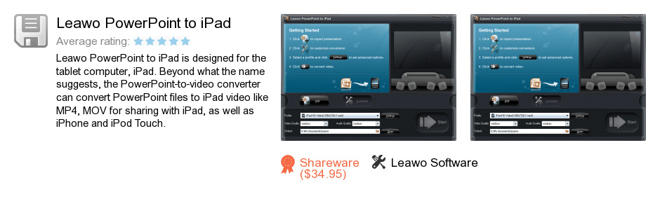 Leawo PowerPoint to iPad