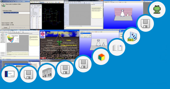 Software collection for 3d Paper Folding Illusion