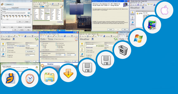 Software collection for Glass Skin Pack For Window Xp