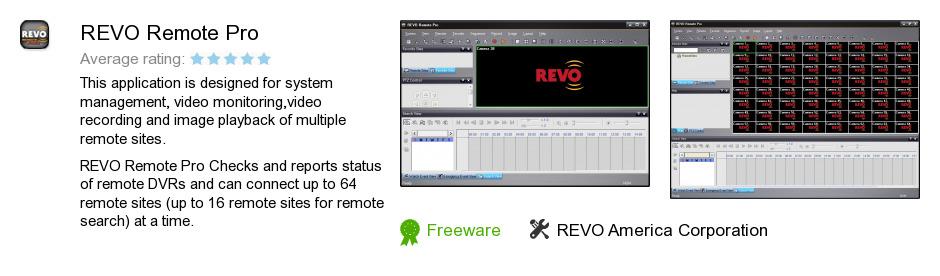 REVO Remote Pro