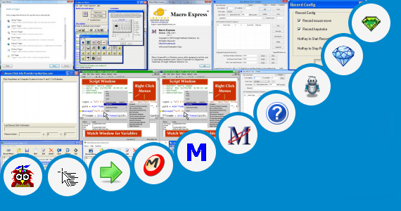 Software collection for Script Mouse Macro X7