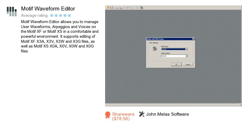Motif Waveform Editor