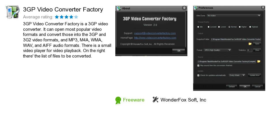 3GP Video Converter Factory