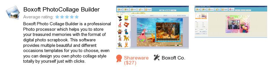 Boxoft PhotoCollage Builder