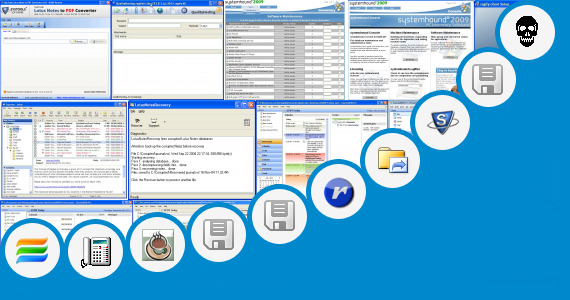 Software collection for Lotus Notes Client Portable