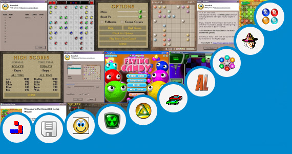Software collection for Alchemy Reactions Game