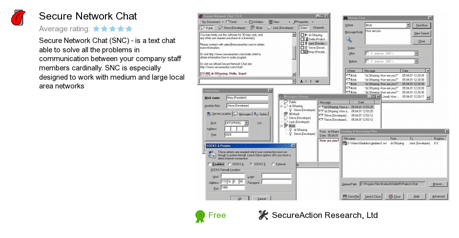 Secure Network Chat