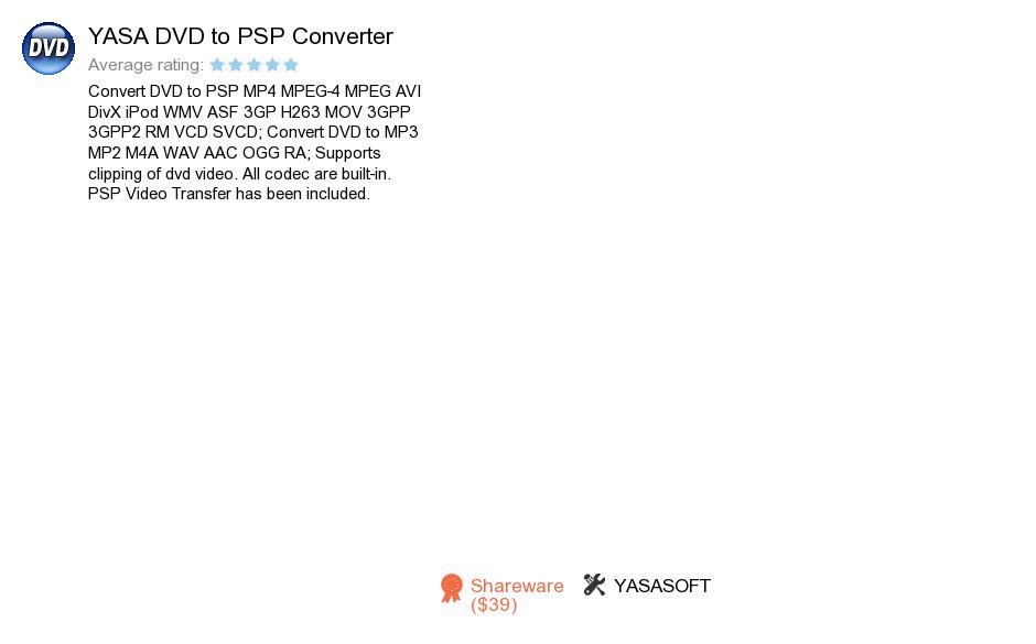 YASA DVD to PSP Converter