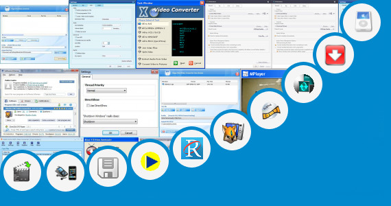 Software collection for Sixx Video Mp4 Play