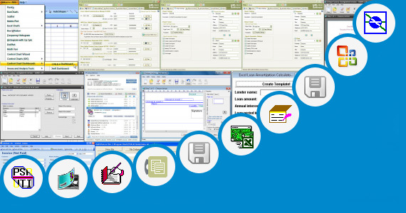Software collection for Excel Template Internal Audit Bank