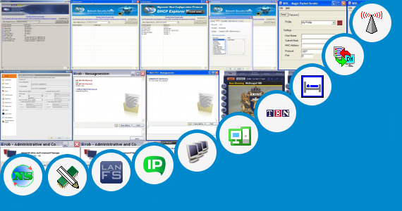 Software collection for Broadcast Check Software In Network