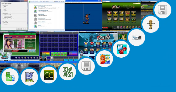 Software collection for Virtual Cup 2 Free Game