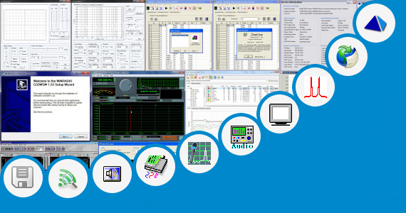 Software collection for Wifi Frequency Scope Software