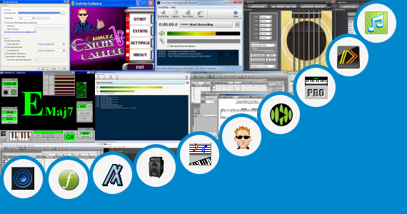 Software collection for Get More Music Tap A Jam