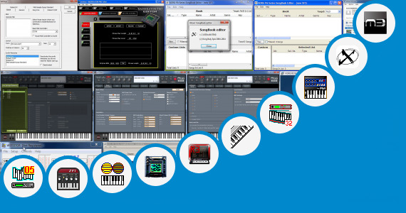 Software collection for Korg M50 Sounds