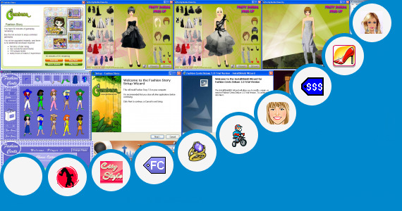 Software collection for Fashion Dress 320x240 Java Games