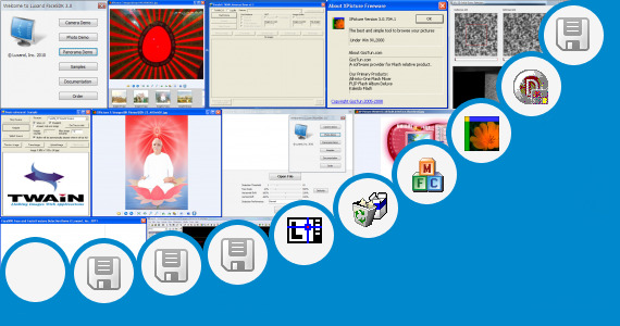 Software collection for Digital Image Correlation Delphi
