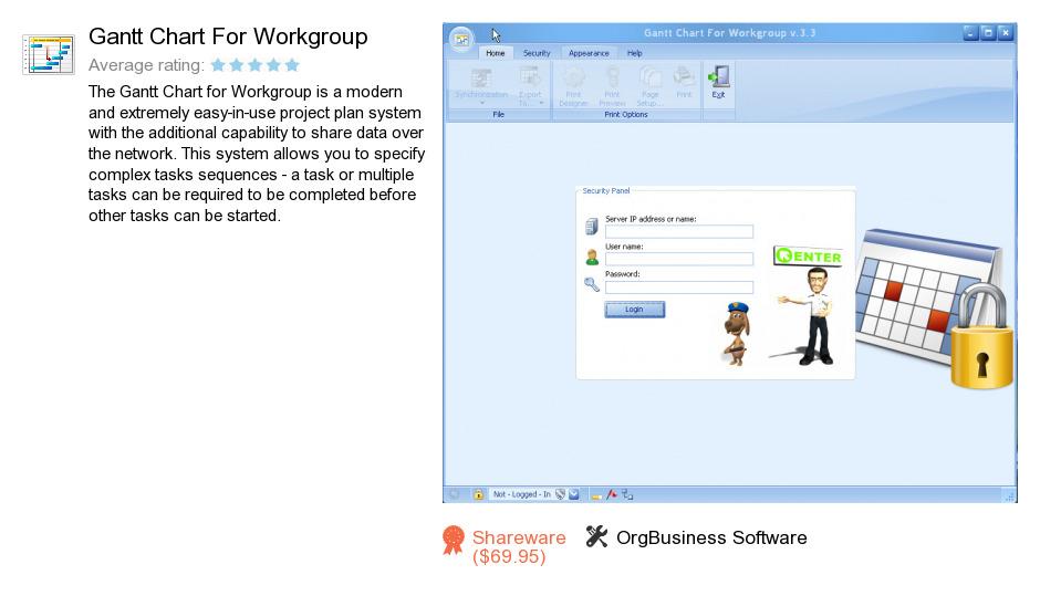 Gantt Chart For Workgroup