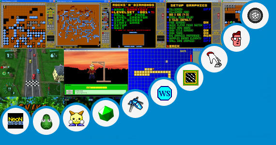 Software collection for Touchstone Arcade Level 4