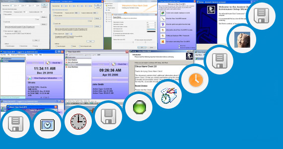 Software collection for Excel Clock In Clock Out