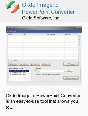 Okdo Image to PowerPoint Converter