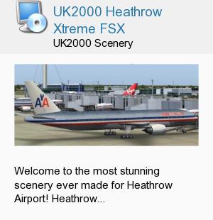 UK2000 Heathrow Xtreme FSX