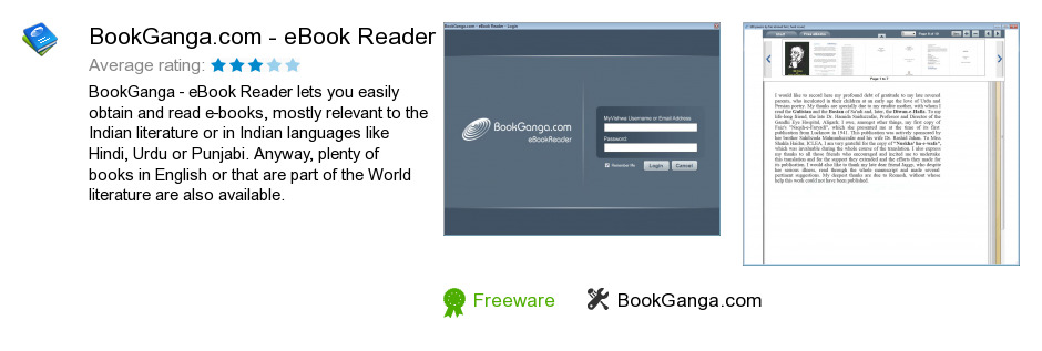 BookGanga.com - eBook Reader