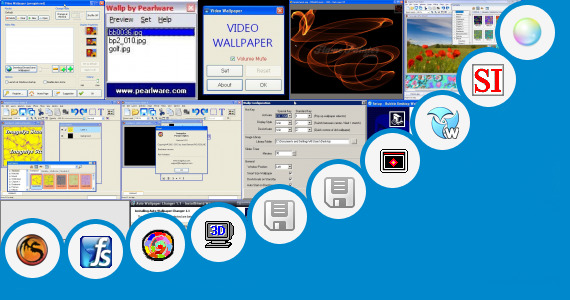 Original Windows 95 Wallpapers Bubble Desktop Wallpaper