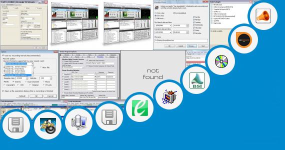 Software collection for Wave Station Broadcast Automation