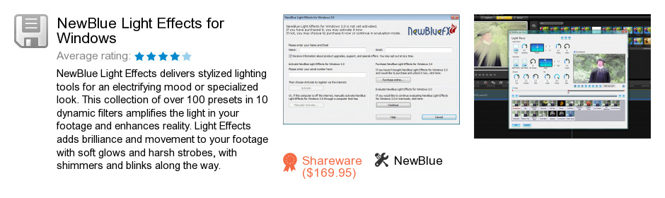 NewBlue Light Effects for Windows