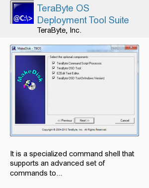 TeraByte OS Deployment Tool Suite