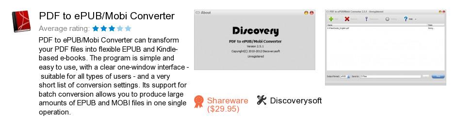 PDF to ePUB/Mobi Converter