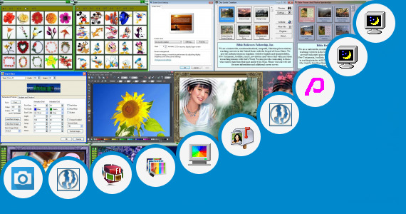 Software collection for Animated Christian Photos