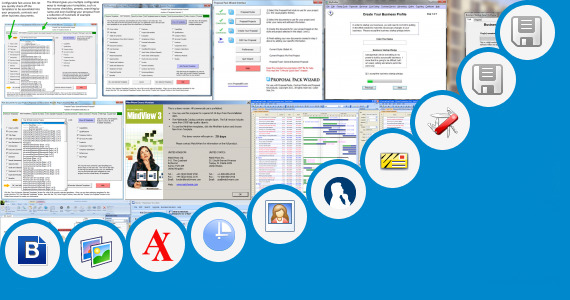 Software collection for Business Plan Wizard Free