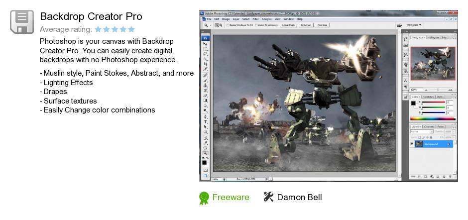 Backdrop Creator Pro