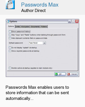 Passwords Max