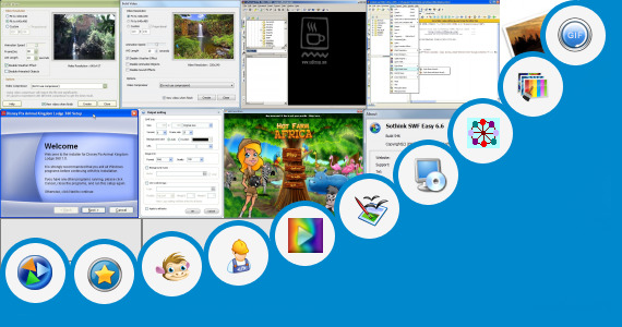 Software collection for Animated Gif Theme Park