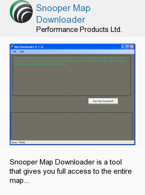 Snooper Map Downloader
