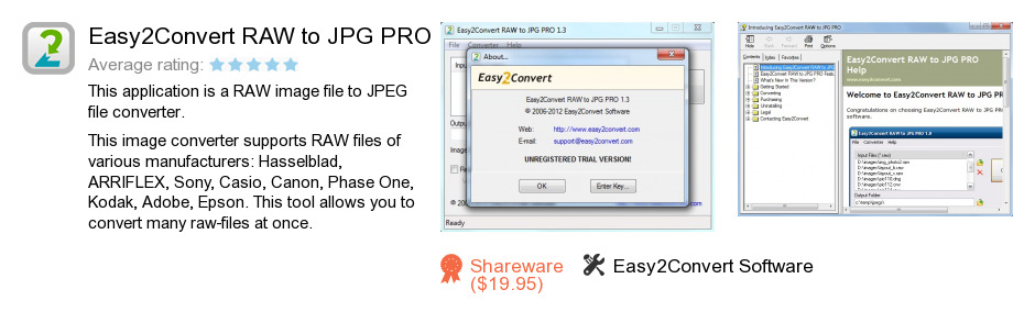 Easy2Convert RAW to JPG PRO