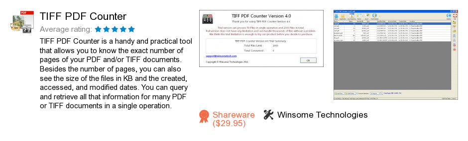 TIFF PDF Counter