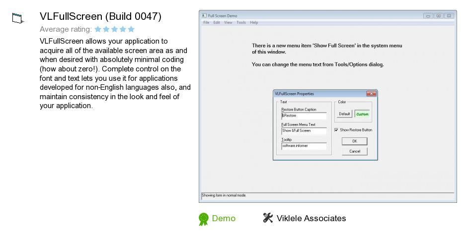 VLFullScreen (Build 0047)