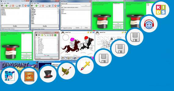 Software collection for Save Earth Kids Drawing Competition