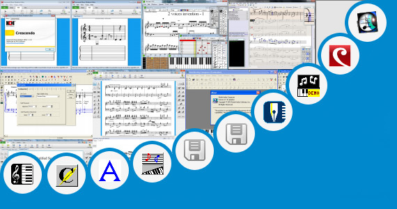 Software collection for Musical Notation Symbols In Excel
