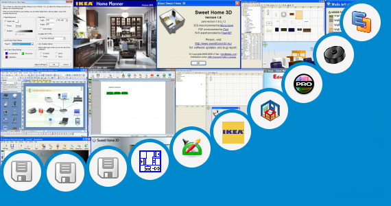 free visio shapes home design sweet home 3d and 22 more