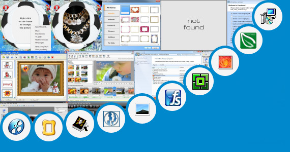 Software collection for Free License Key Photo Frame Genius