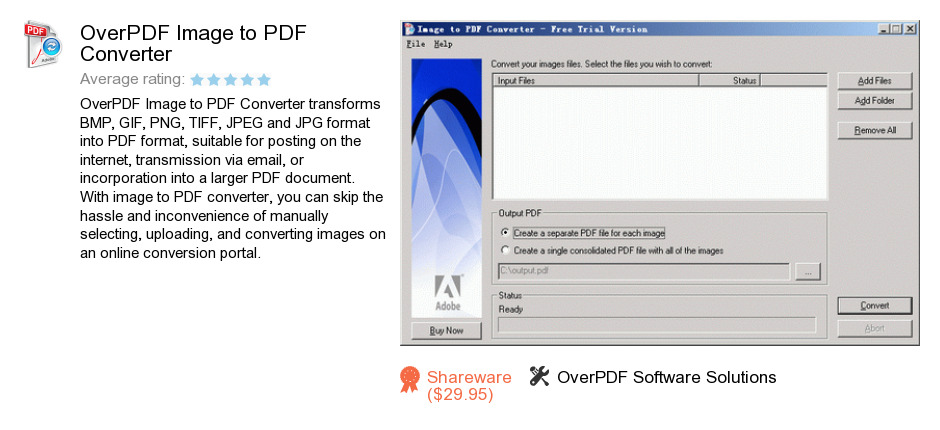 OverPDF Image to PDF Converter