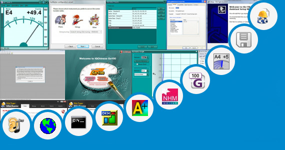 Software collection for Aps Marathi Typing
