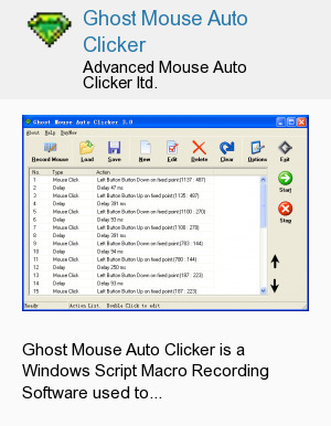 Ghost Mouse Auto Clicker