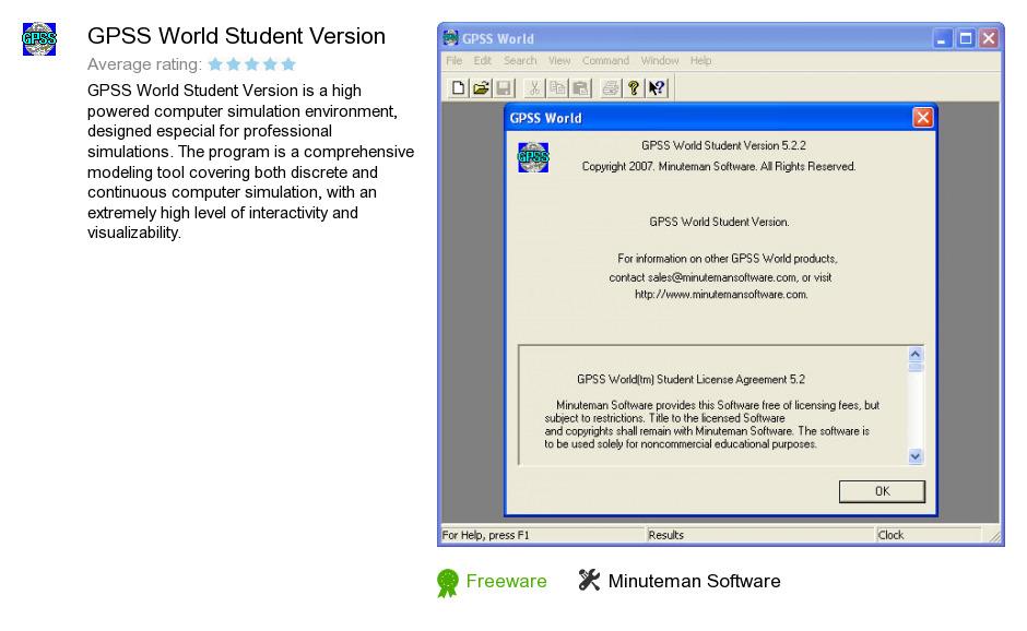 GPSS World Student Version